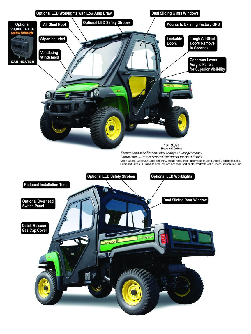 John Deere Gator HPX/XUV All-Steel Cab (1GTRXUV2 )